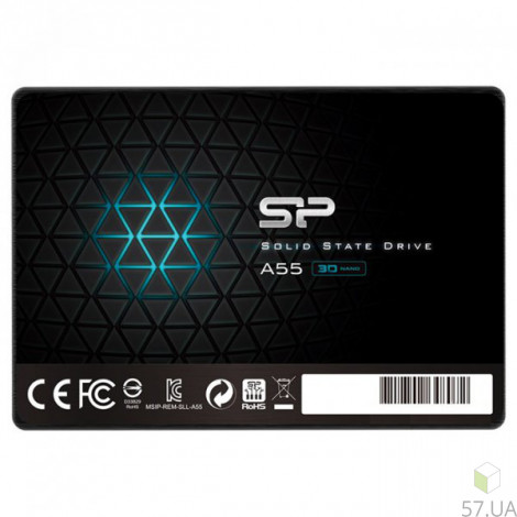 """HDD 2.5"""" SSD 1,0 Tb,  SiliconPower (SP001TBSS3A55S25)"""