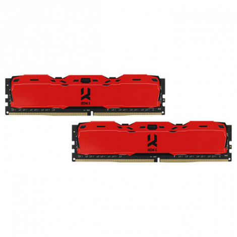 Память DDR4 16384 Mb GoodRam частота: 3000 MHz Комплект (2*8192Mb)  (IR-XR3000D464L16S/16GDC)