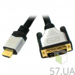 Кабель HDMI -> DVI Viewcon VD103-5M