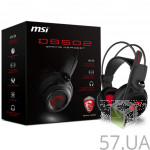 Гарнитура MSI DS502 GAMING Black/Red
