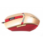 Мышь Maxxter G1 Iron Claw Gold/Red USB
