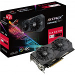 Видеокарта PCI-E 4,0 Gb AMD RX 570 ASUS ROG STRIX GAMING OC (ROG-STRIX-RX570-O4G-GAMING)