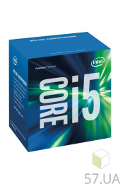 Процессор Intel Core i5 7400 3000 LGA-1151 (Box) BX80677I57400, интернет магазин 57.ua