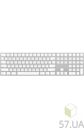 Клавиатура Apple Magic Keyboard (MQ052NB) Silver (беспроводн) USB, интернет магазин 57.ua