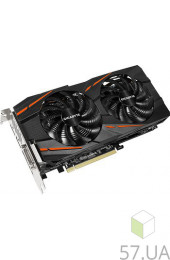 Видеокарта PCI-E 8,0 Gb AMD RX 570 Gigabyte (GV-RX570GAMING-8GD), интернет магазин 57.ua