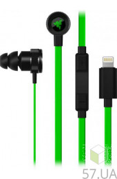 Гарнитура RAZER Hammerhead for iOS (RZ04-02090100-R3G1) Green, интернет магазин 57.ua
