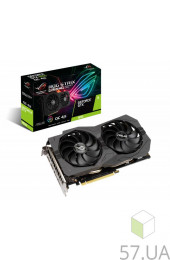 Видеокарта PCI-E 4,0 Gb nVidia GTX1650 ASUS (ROG-STRIX-GTX1650-O4GD6-GAMING), интернет магазин 57.ua