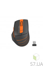 Мышь A4 Tech FG30S Orange Black (беспроводн) Bluetooth, интернет магазин 57.ua