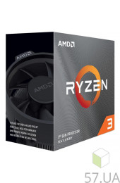 Процессор AMD Ryzen 3 3100 3600 socket-AM4 (Box) (100-100000284BOX), интернет магазин 57.ua