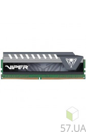 Память DDR4 8192 Mb Patriot частота: 2400 MHz (PVE48G240C6GY) Viper Elite Gray, интернет магазин 57.ua