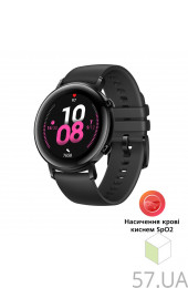 Смарт-часы Huawei Watch GT 2 42mm Sport Edition 55025064 Black, интернет магазин 57.ua