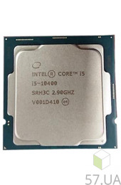 Процессор Intel Core i5 10400 2900 LGA-1200 (Tray) CM8070104290715, интернет магазин 57.ua