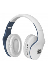 Гарнитура Bluetooth Defender FreeMotion B525 White/Blue, интернет магазин 57.ua