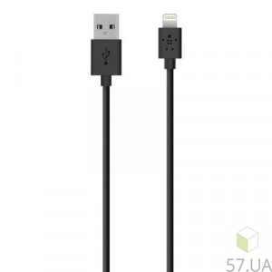 Data Cable Micro Lighting Belkin F8J023BT2M-BLK 1.2m
