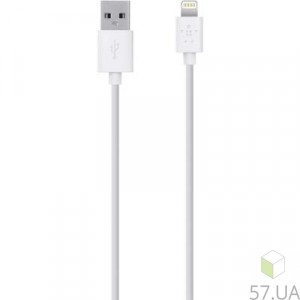 Data Cable Micro Lighting Belkin F8J023BT04-WHT 1.2m