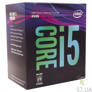 Процессор Intel Core i5 8400 2800 LGA-1151 (Box) BX80684I58400