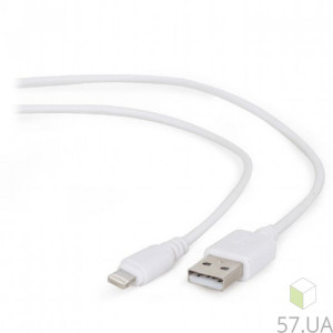 Data Cable Micro Lighting Cablexpert CC-USB2-AMLM-2M-W