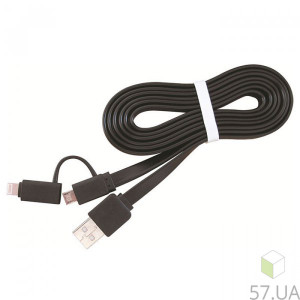 Data Cable Micro Lighting Cablexpert CC-USB2-AMLM2-1M