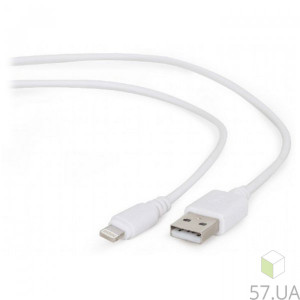 Data Cable Micro Lighting Cablexpert CC-USB2-AMLM-W-0.1M
