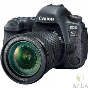 Фотоаппарат Canon EOS 6D MKII Black 24-105 IS STM