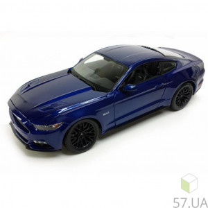 Машина Maisto Ford Mustang GT 2015 (31508 blue) (1:24)