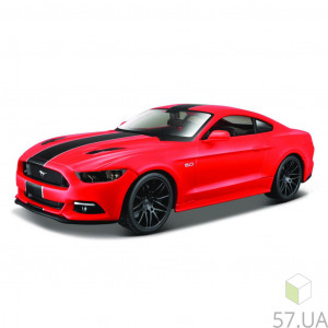 Машина Maisto 2015 Ford Mustang GT (31369 red) (1:24)