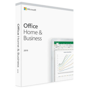 Программа Microsoft Office 2019 Home and Business 32/64-bit English Medialess BOX (T5D-03245)