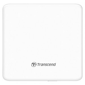 Привод DVD-RW USB Transcend TS8XDVDS-W Ultra Slim White Box
