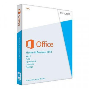 Программа Microsoft Office 2013 Home and Business Russian DVD BOX (T5D-01761)