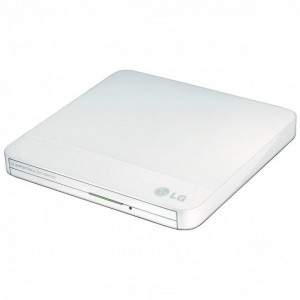 Привод DVD-RW USB LG GP60-NW60 White Box