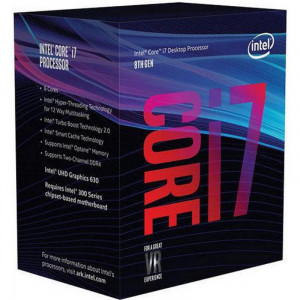 Процессор Intel Core i7 8700K 3700 LGA-1151 (Box) BX80684I78700K