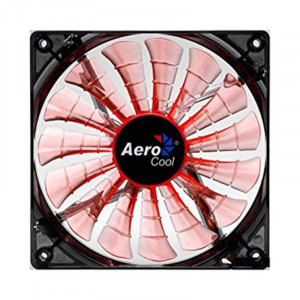 Вентилятор для корпуса AEROCOOL Shark Fan Evil Black/Orange LED Retail 120mm