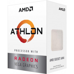 Процессор AMD Athlon 220GE 3400 socket-AM4 (Box) YD220GC6FBBOX