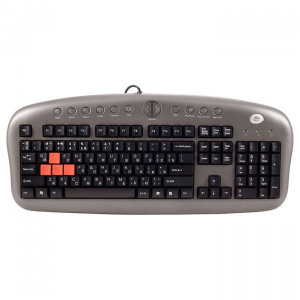 Клавиатура A4 Tech KB-28G Silver/Grey  USB