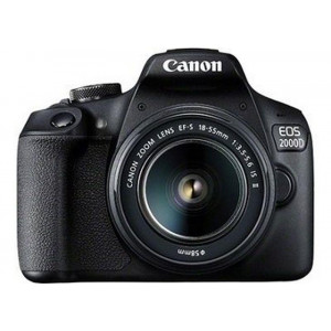 Фотоаппарат Canon EOS 2000D Black 18-55 IS II + сумка SB130 + картка пам`яти SD16GB