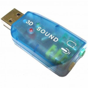 Звуковая карта Dynamode USB-SOUNDCARD2 2.0 USB Tray