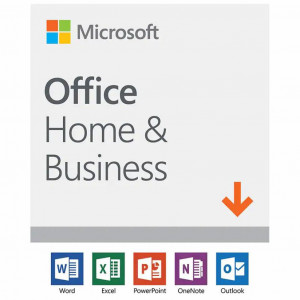 Программа Microsoft Office 2019 Home and Business 32/64-bit Russian Medialess BOX (T5D-03248)