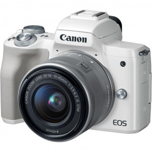 Фотоаппарат Canon EOS M50 White 15-45 IS STM Kit