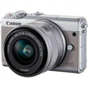 Фотоаппарат Canon EOS M100 Grey 15-45 IS STM Kit